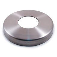 """E4077 Stainless Steel Flange Canopy, 2 13/32"""" Diameter Hole"""
