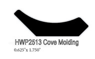 "2513 .625"" x 1.75"" Cove Molding"