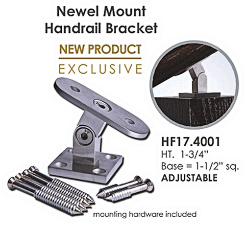 HF17.4001 Newel Mount Handrail Bracket