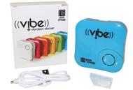 Pure Energy Vibe - Vibration Speaker Sticker Blue