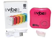 Pure Energy Vibe - Vibration Speaker Sticker Pink