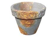 """Rust Brown Terracotta Pot 3.5"""""""