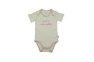 Eotton Certified Organic Cotton Toddler Bodysuit - Sweet Baby