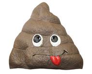 Rolling Doo Doo Giant Poop Fake Doody Head Latex Adult Mask