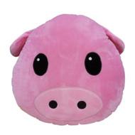 Emoticon Emoji Pink Cushion Pillow Stuffed Plush Toy Piggy