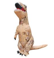 Skinz Kids Mega Suit Inflatable Zentai Costume - T-Rex Dinosaur