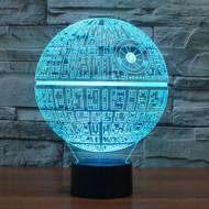 Phantom Lamps Death Star 3D LED Illusion Lamp