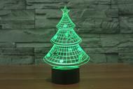 Phantom Lamps Christmas Tree 3D LED Illusion Lamp