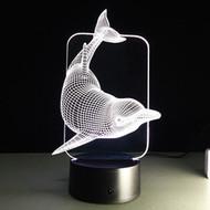 Phantom Lamp Dolphin 3D LED Illusion Lamp