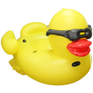 SUNOLOGY Luxe Float Classic Yellow Duck with Cup Holders