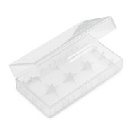 Clear Battery Case for 2 x 18650