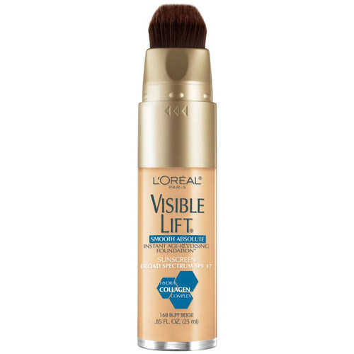 L'Oreal Visible Lift Smooth Absolute Foundation #168 Buff Beige