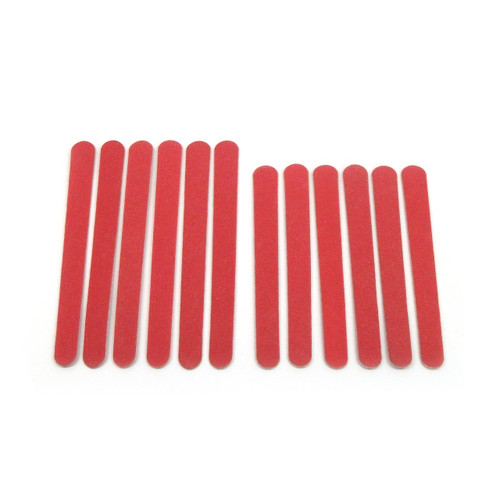 Classic Red Emery Board Set of 12