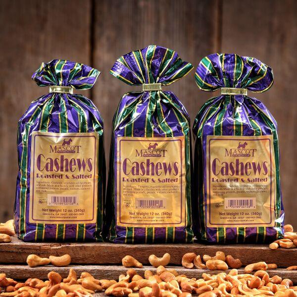 3 12oz bags of cashews