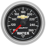 Auto Meter 880446 GM Series Electric Water Temperature Gauge