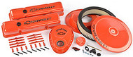 Chevrolet Small-Block V-8, 1958–1986 - New Dress-up kits – Chevy Orange