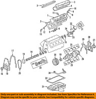 Main Bearing - For non-LS7 engines – 89017572