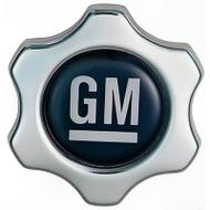 Twist-In Oil Filler Cap - Chrome with GM logo