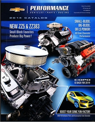 2014 Chevrolet Performance Parts Catalog