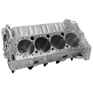 "Aluminum Bowtie Chevy Small Block - 4.117""-4.135"" Bore, 9.025"" Deck, 2.65"""