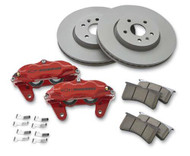 Chevrolet Performance Brake Package w/ Front Calipers -  LH Fixed Bridge Caliper