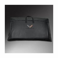 Storage Bags - Removable Roof Panel Storage Bag - Crossed-Flag Logo,Black