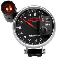 "5"" Tach, 10,000 RPM with shift indicator light"