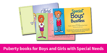 Puberty books for children with special needs
