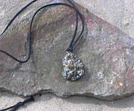 Pyrite Wire Wrapped Necklace