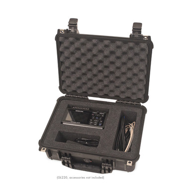 gl, datalogger, data, logger, waterproof, hard, shell, protective, carry, case