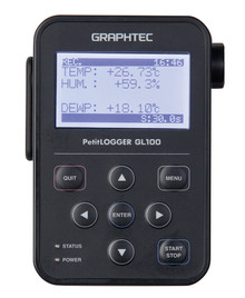 WLAN compact data logger with triggering function for CO2, Temp, Oxygen