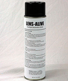 Lens-Alive lays like glass and lasts years.