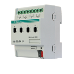 Switch Actuator 4 folds 16A - KA/R 04.16.1