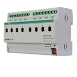 Switch Actuator 8 folds 16A - KA/R 08.16.1
