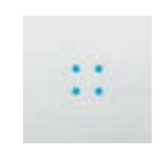 4 Blue  Bright Leds  12-24V  AC
