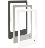 Portrait Bezel Brushed Aluminum iPad 2-4 & iPad Air 1 & 2