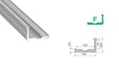 LED Profile Set - Profile Type F