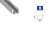 LED Profile Set - Profile Type X