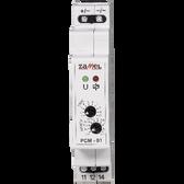 PCM-01/24V - Time Relay Switch ON-Delay 24V AC/DC