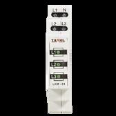 LKM-01-20 - Power Supply Indicator 230V/400V 3xLED GREEN TN