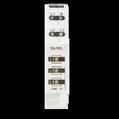 LKM-01-30 - Power Supply Indicator 230V/400V 3xLED YELLOW TN