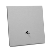 ANNA CARRE - 1 LEVER (DOUBLE PUSH-BUTTON) KNX NO LEDS INTEGRATED TEMP & HUMIDITY SENSOR