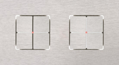 LARA CARRE - 2/4 + 1 PUSH-BUTTON KNX WITH LEDS