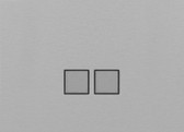 LOLA CARRE - 2 PUSH-BUTTONS KNX NO LEDS
