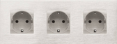 ARNO COVER PLATE - 6 MODULES CENTER 71MM