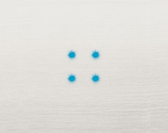 EDNA BANDE - 4 blue bright LEDS - 12-24VAC