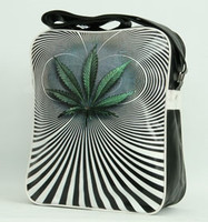 Marijuana psychedelic squared bag Bag