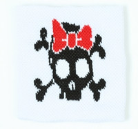 Cute Sk lace red sweat band accessory