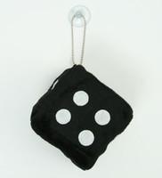 1 dice black / white 1 dice car accessory