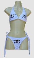 1 Sk white bikini lady